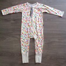 New Baby Girls Bonds Wondersuit Confetti Print Size 3