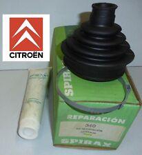 NEUF de STOCK !! CITROEN BX kit REPARATION SOUFFLET CARDAN côté roue SPIRAX 340