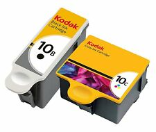 2 Ink Cartridges For Kodak 10B 10C ESP 3 5 7 9 3250 5210 5250