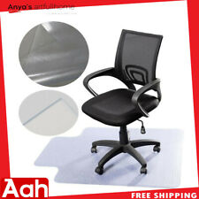"48""x36"" Plastic Floor Mat Clear Protector Office Chair Rug Floor Computer Desk"