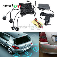 4 Parking Sensors Car Reverse Rear Buzzer Radar System Alarm KitsBSG