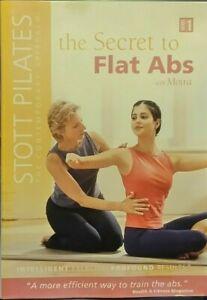 Stott Pilates Flat Abs DVD - ALL REGIONS - Womens Fitness