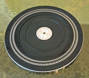 Philips 222 Turntable Platter with Rubber Mat - Platter & Mat PART
