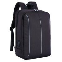 Casual Backpack 17 Inches Laptop Bag Business School Rucksack For Women & Men