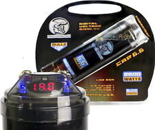 Bcap6.6 Bullz Audio 6600 Watt 12V Car Digital Power 6.6 Farad Capacitor