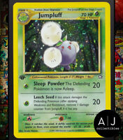 Jumpluff 7/111 1st Edition Neo Genesis Set Holo WOTC Pokemon Card TCG NM/MT