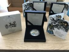 More details for lot 2. 🇬🇧2021 alice's adventures in wonderland £2 1oz silver proof coin.