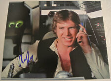 HARRISON FORD Autographed Hand Signed STAR WARS Han Solo Photograph Autograph