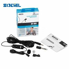 Boya BY-M1 Lavalier Microphone for Canon Nikon DSLR Camcorder Audio Recorder