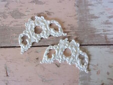 SHABBY n CHIC FURNITURE APPLIQUES * ARCHITECTURAL CENTERS * FLEXIBLE * PAINTABLE