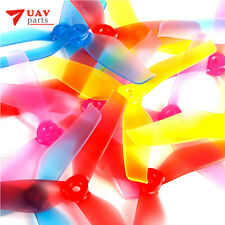 20 Pairs DYS triblade propeller 5042 CW/CCW X50423 PC Material w/ jelly color