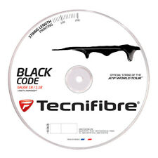 Tecnifibre Black Code ( 200m Rolle ) schwarz 1,18 mm (0,65 EUR pro m)