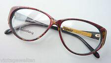 Seeyou Glasses Frames Vintage Ladies Large Glass Shape Markenbrille Dark SIZE M