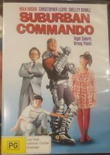 SUBURBAN COMMANDO RARE DELETED OOP DVD HULK HOGAN & CHRISTOPHER LLOYD MOVIE