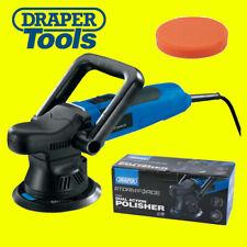 """Draper 01816 125mm 5"""" Dual Action DA Polisher Buffer Sander,Velcro Sponge & Bag"""