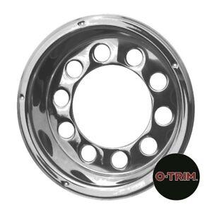"One pair 22.5"" Rear O-Trim wheel Liner stainless steel wheel trim"