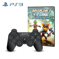 Playstation3 Controller with Ratchet & Clank A Crack in Time Game for Sony PS3