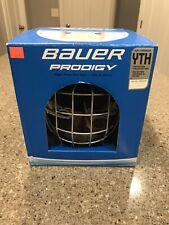 Bauer Prodigy Helmet Combo 1045723 Hockey White Yth Size Grandeur