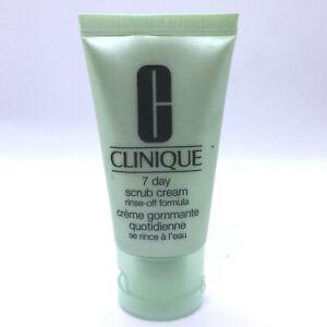 Clinique 7 Day Scrub Cream, Rinse-Off Formula