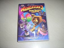 "DVD animé,""MADAGASCAR 3,BONS BAISERS D'EUROPE"""