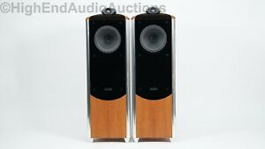 Tannoy Dimension TD10 Floorstanding Speakers - Cherry Finish $8000 MSRP