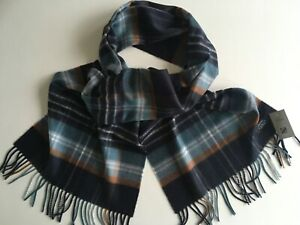 Ladies/Gents Pure Cashmere Scarf/Stole Made in Scotland