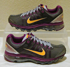 New Nike Shoes Air Max 2009 Grey Grape Mango Womens US Size 10 UK 7.5 EUR 42