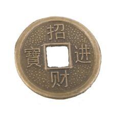 Chinesische Glücks Münze 10 St. ca.23 mm.Feng Shui Amulett``Mineralien Stein