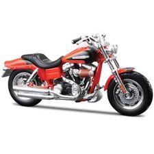 Motocicletas y quads de automodelismo y aeromodelismo Harley-Davidson de escala 1:18
