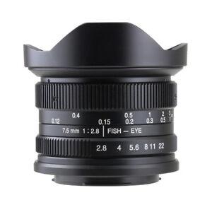 7artisans 7.5mm F2.8 Manual Fisheye Lens Sony E Mount A7, A7II, A7R,nex,A7iii