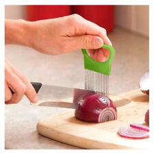 Onion Slicer Holder Tomato Cutter Vegetable Shredder Cutting Guide Aid Utensil