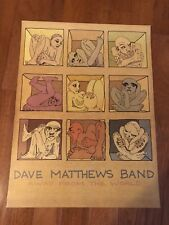 """DAVE MATTHEWS BAND AWAY FROM THE WORLD 18""""x24"""" LITHOGRAPH POSTER DMB ALBUM!"""