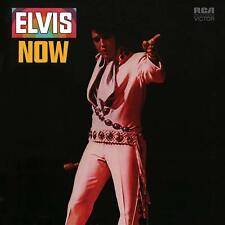 Elvis Presley - Elvis Now LP - 180 Gram Blue Swirl Colored Vinyl Album Record