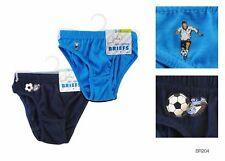 Boys 2 Pack Briefs New Kids Underwear Pants 100% Cotton UK