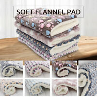 EXTRA LARGE SOFT COSY WARM FLEECE PET DOG CAT ANIMAL BLANKET THROWN A+++ UK