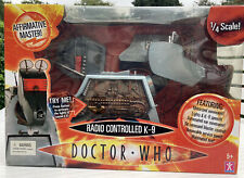 More details for doctor who k.9 radio controlled 1/4 scale 2004 nib