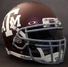 *CUSTOM* TEXAS A&M AGGIES NCAA Schutt XP Authentic GAMEDAY Football Helmet