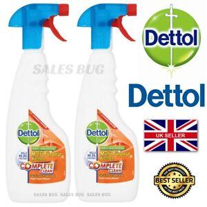 2 X 440ml Dettol Multi Purpose Kitchen Cleaner Cuts Grease & Soap Scum
