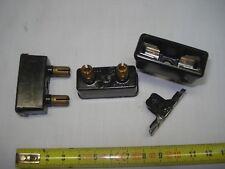 2 fusibles bakélite pour cartouche 8,5 mm x 31,5 mm Legrand (réf R1) 230/380 v