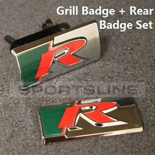 Grill + Rear R Sport Badge Emblem Decal XKR XK8 XFR XF XK XR XE XJ XJR XJS T41s