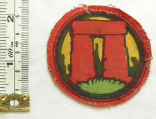 Military WW2 Salisbury Plain District Southern Com Formation Cloth Badge (5049)