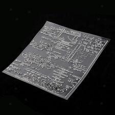 Silikonstempel Set - Envelope - Clear Stamps Umschlag