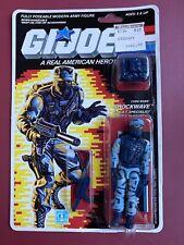 "1987 HASBRO GI JOE SHOCKWAVE RE-SEALED CARDED 3 3/4"" COMPLETE ARAH Action Figure"