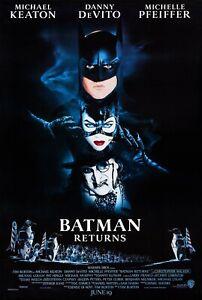 BATMAN RETURNS (1992) ORIGINAL MOVIE POSTER  -  ROLLED