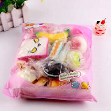 10pcs Slow Rising Squishies Scented Charms Kawaii Squishy Squeeze Toy Keychain