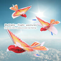 RC Flying Bird LED ABS 2.4GHz Remote Control Pigeon Flying Bird Children Toy xx