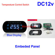 Digital Programable DC12v Measure Temperature Meter Thermostat Controller Switch