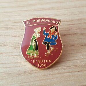 Pin's - Les Morvandiaux d'AUTUN 1958 (16)