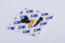 Number Plate Fixings Nuts + Bolts + Pads