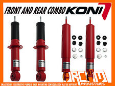 TOYOTA PRADO 120 SERIES 2003-2009 KONI ADJUSTABLE  F & R SHOCK ABSORBERS